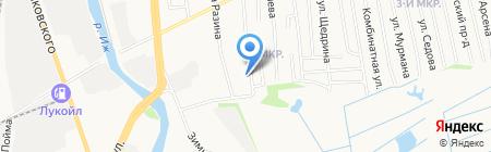 Почтовое отделение №32 на карте Ижевска