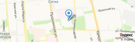 Сувенирная лавка на карте Ижевска
