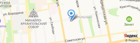Жемчужина на карте Ижевска