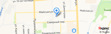 Общественная приемная депутата Городской думы г. Ижевска Орлова А.И. на карте Ижевска
