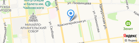 Souvenirs & Подарки на карте Ижевска