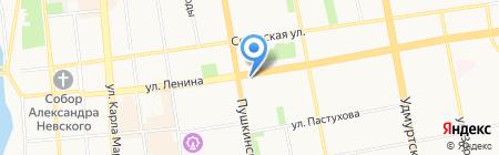 Oxford на карте Ижевска