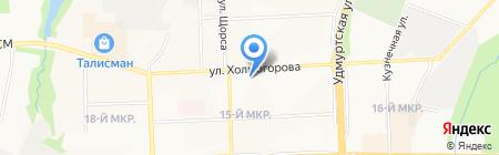 ЛиК-строй на карте Ижевска