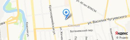 Юрпрофи на карте Ижевска