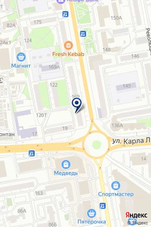 АВТОМАГАЗИН АВТОМИР-1 на карте Ижевска