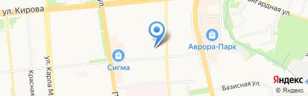 Крестовоздвиженская часовня на карте Ижевска