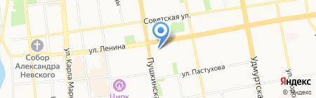 Дом на карте Ижевска