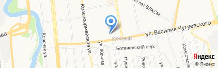 Игла на карте Ижевска