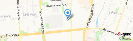 Life-music на карте Ижевска