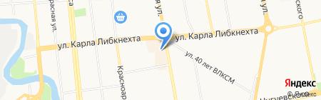 Галерея Путешествий на карте Ижевска