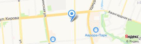 Пожарная часть №2 на карте Ижевска