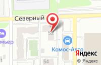 Схема проезда до компании Деревянное домостроение в Бабяково