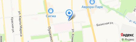 Алиана на карте Ижевска