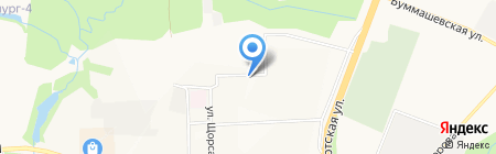 Альянс-Строй на карте Ижевска