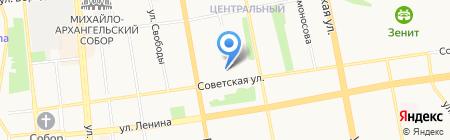 Сапожок на карте Ижевска