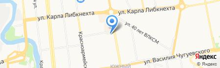 Izhprotein на карте Ижевска