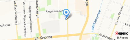 Рефакт на карте Ижевска