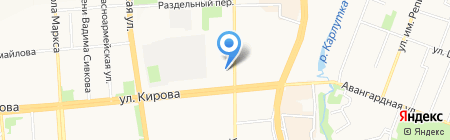 Военная прокуратура Ижевского гарнизона на карте Ижевска