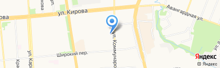 Детский сад №156 на карте Ижевска