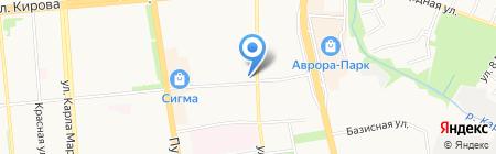 Ю-Макс-Строй на карте Ижевска