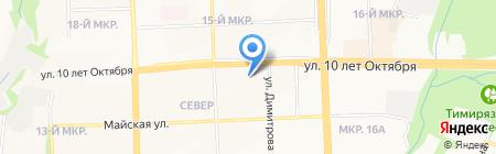 Управление по социальной поддержке населения делам семьи на карте Ижевска