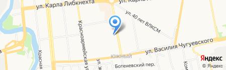 Barbarelle на карте Ижевска