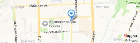 Русская Ладья на карте Ижевска