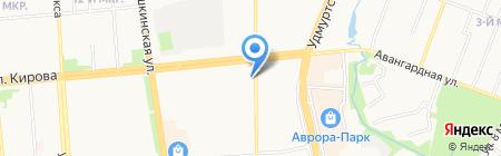 Баско на карте Ижевска