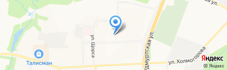 Комплексный центр социального обслуживания населения №2 Октябрьского района г. Ижевска на карте Ижевска