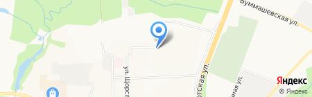 Виктория Парк на карте Ижевска