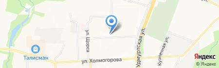 Академия на карте Ижевска