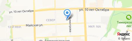 Мечта Бьюти на карте Ижевска