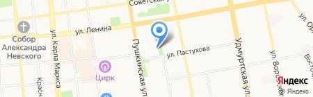 Лаборатория на карте Ижевска