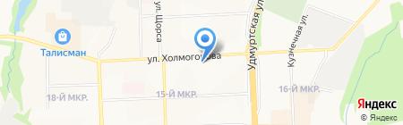 Вита-Гран на карте Ижевска