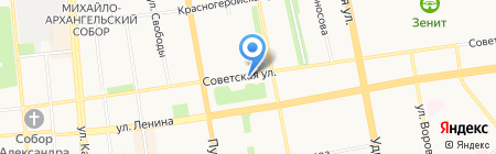 Стоматологическая поликлиника №1 на карте Ижевска