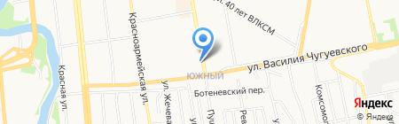 Акконд на карте Ижевска