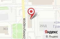 Схема проезда до компании Твой ход в Ижевске