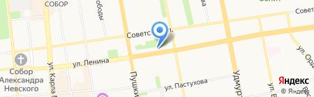 Artex на карте Ижевска