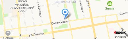 Республиканская стоматологическая поликлиника на карте Ижевска