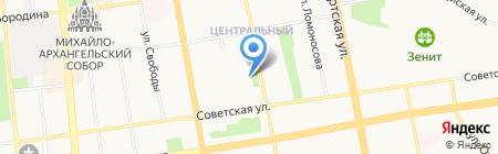 Лесера на карте Ижевска