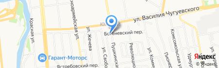 Астория на карте Ижевска