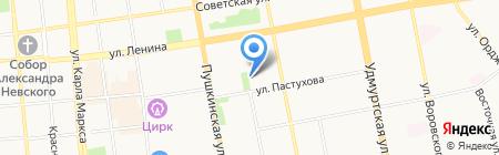 Земельно-кадастровый центр на карте Ижевска