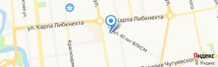 Аякс на карте Ижевска