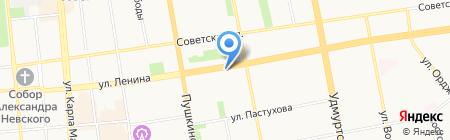 Nix на карте Ижевска