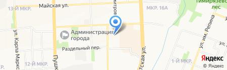 Мир авто на карте Ижевска