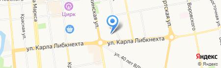 Стоматологическая поликлиника на карте Ижевска