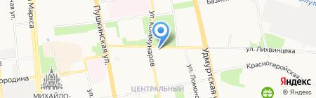 Управление природных ресурсов и охраны окружающей среды Администрации г. Ижевска на карте Ижевска