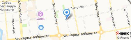 Центральный тепловой пункт 44 квартала на карте Ижевска