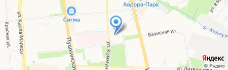 Единая Россия на карте Ижевска