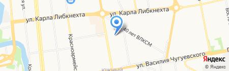 Флористика LIKE на карте Ижевска